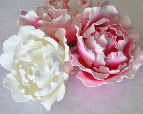 sugar flower wedding cake toppers large 13cm peony sugar flower wedding birthday cake 20579